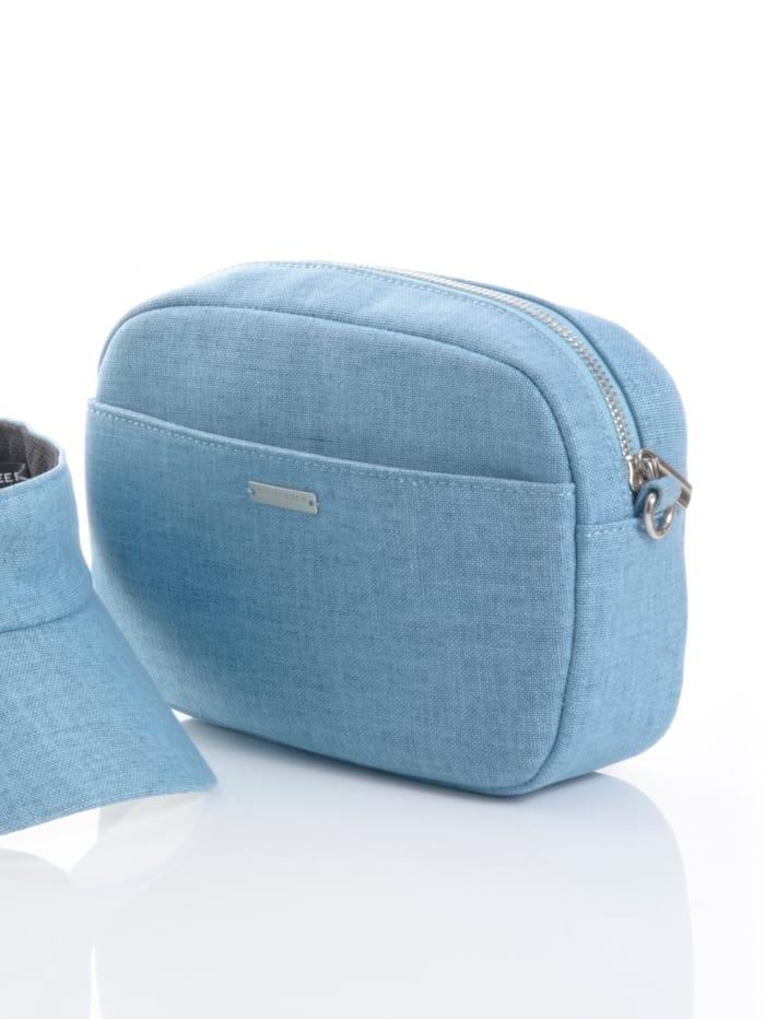 Väska som kan bäras på olika sätt