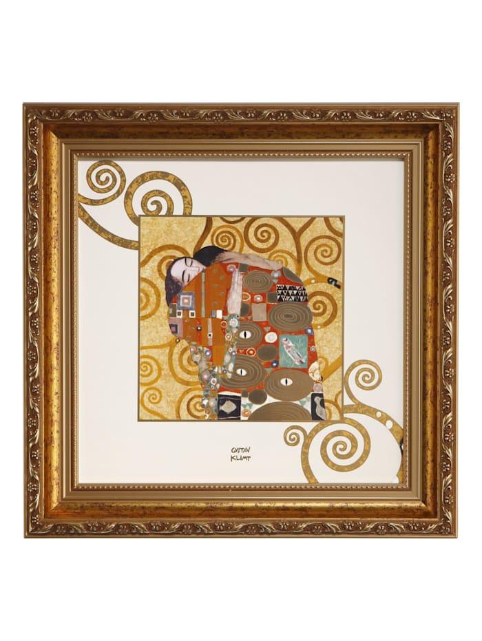 """Goebel Goebel Wandbild Gustav Klimt - """"Die Erfüllung"""", Klimt - Erfüllung"""