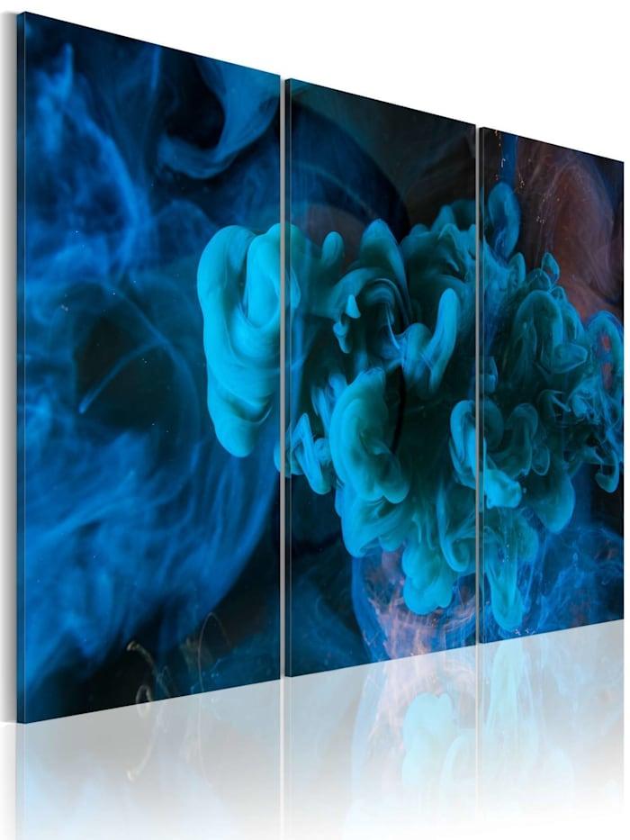 artgeist Wandbild Das große Blau, Blau,Türkis