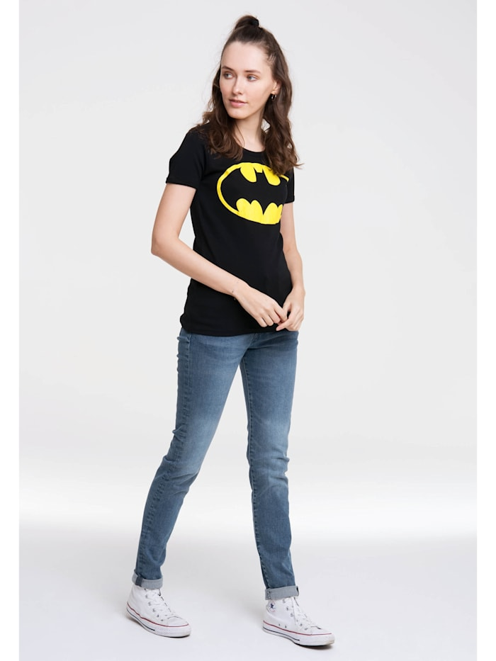 T-Shirt Batman-Logo mit lizenziertem Originaldesign
