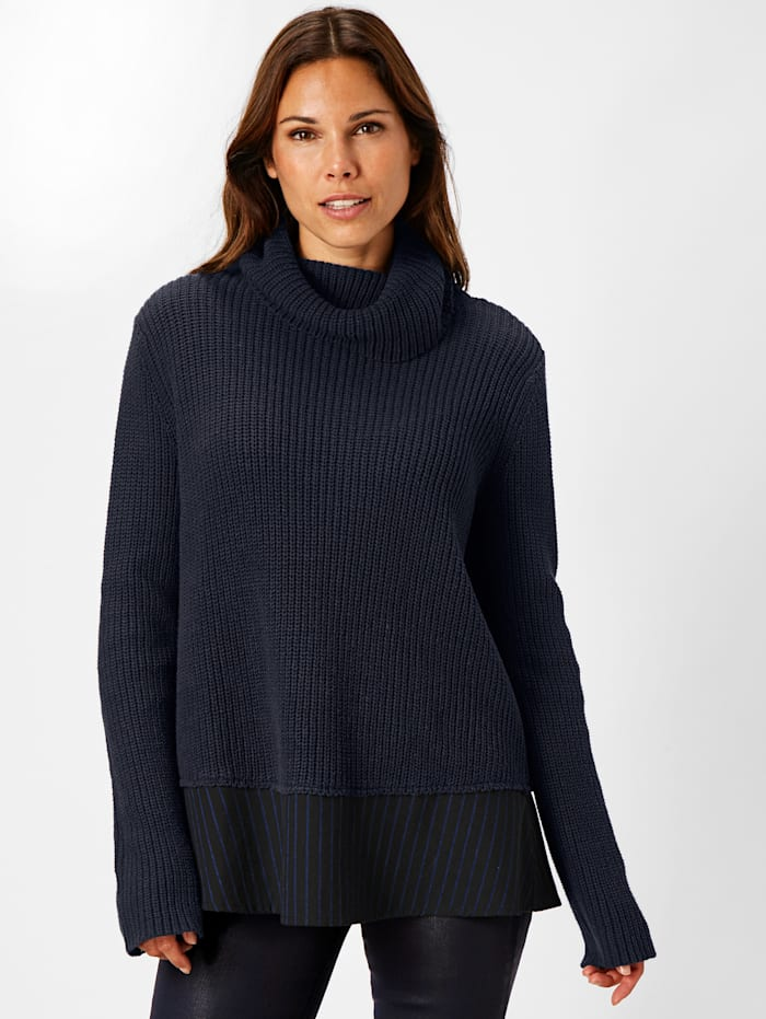 REKEN MAAR Pullover, Dunkelblau