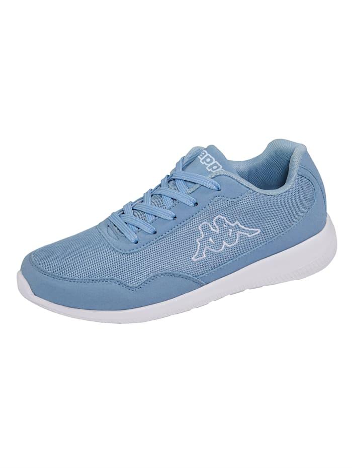 Kappa Sneaker in meshlook, Lichtblauw