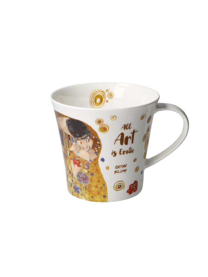 Goebel Coffee-/Tea Mug Gustav Klimt - All Art is Erotic