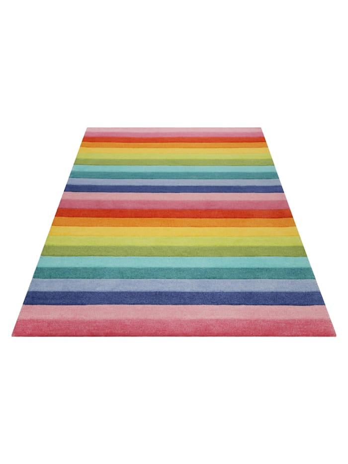 Smart Kids Teppich Rainbow Stripes
