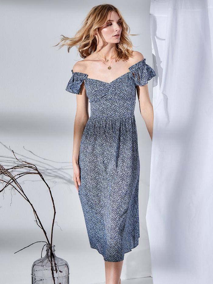 Kleid geblümt