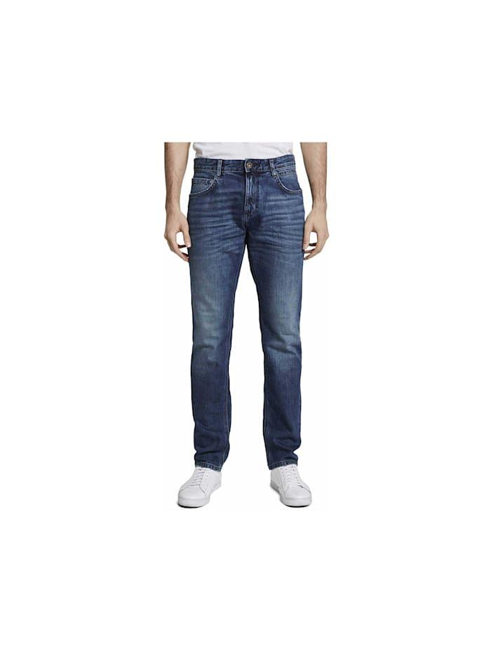 Tom Tailor Straight Leg Jeans, blau