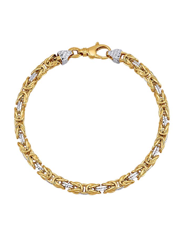 Diemer Gold Koningsarmband van 14 kt. goud, Geelgoudkleur