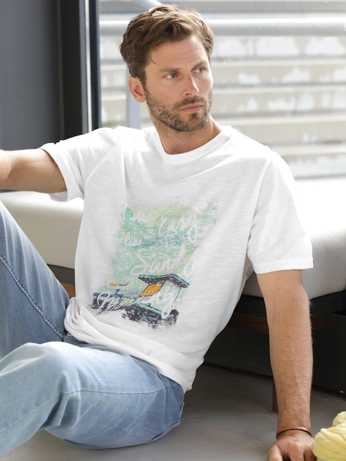 BABISTA Shirt met print, Wit