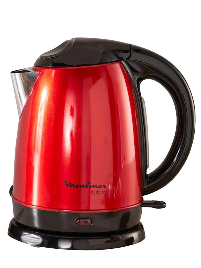 Moulinex Vannkoker Subito YB5305, rød/svart