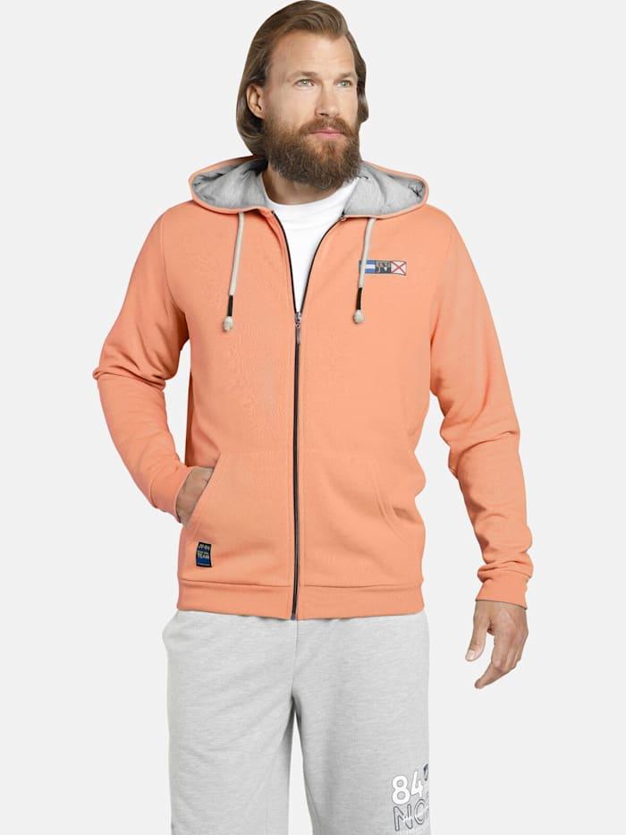 Jan Vanderstorm Jan Vanderstorm Sweatjacke EDRIK, orange