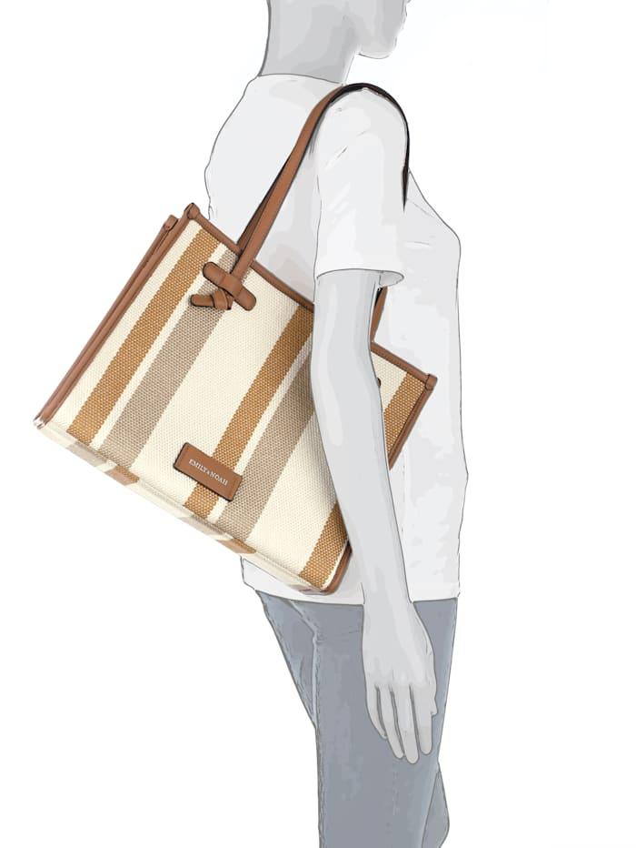 Shopper mit separater kleineren Tasche 2-teilig