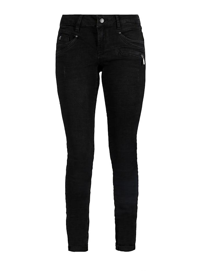 Miracle of Denim Suzy Skinny Fit Jeans, Black Denim