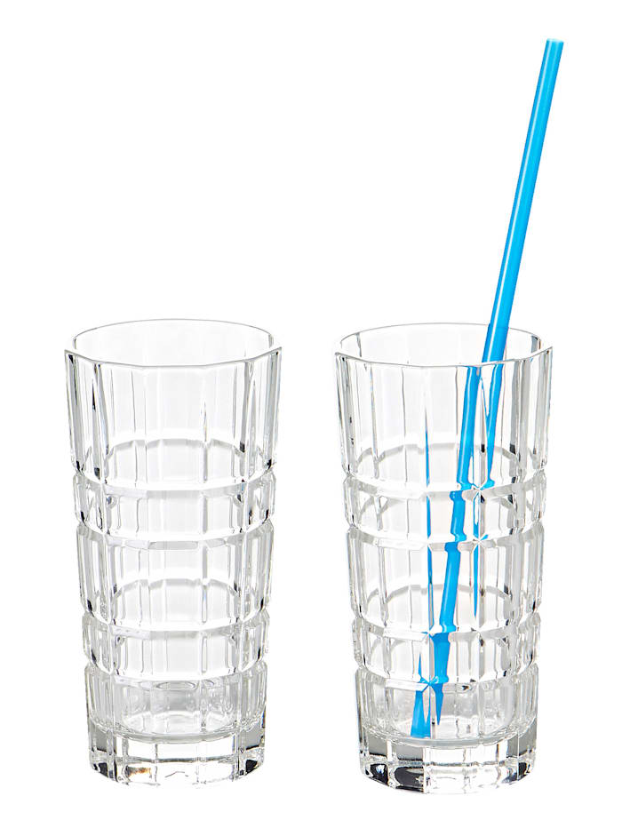Leonardo Longdrinkglas-Set, 2-tlg., transparent