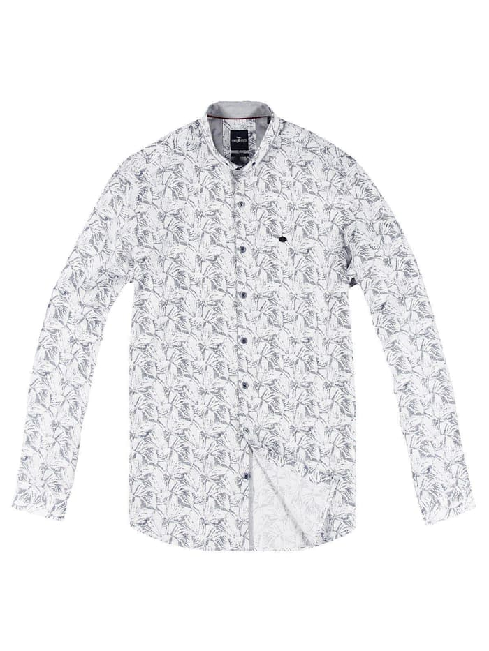 Engbers Floral gemustertes Hemd, Marineblau