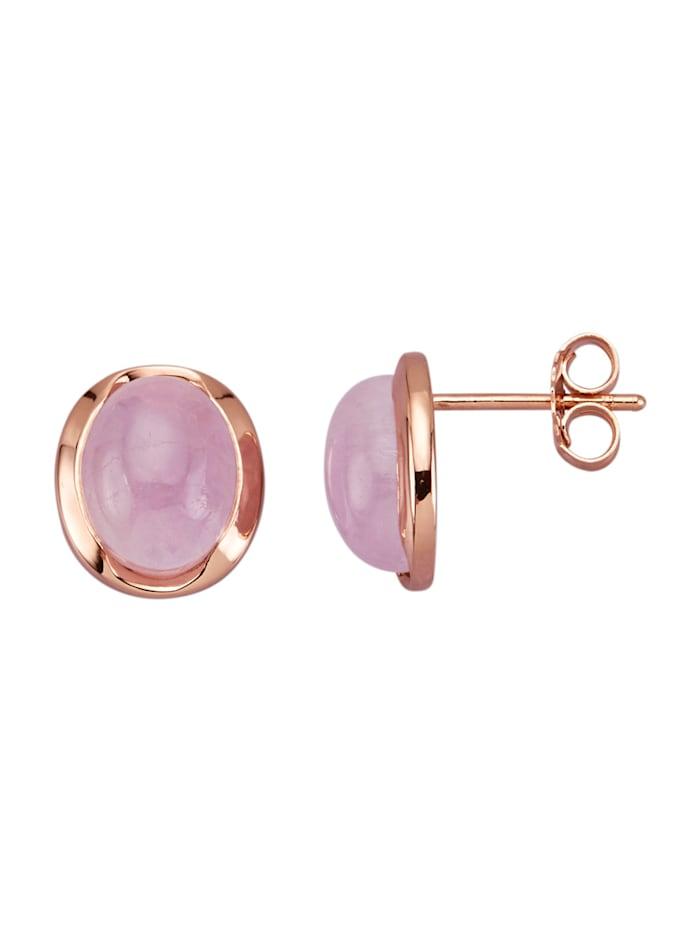 Oorstekers van echt zilver, Roze