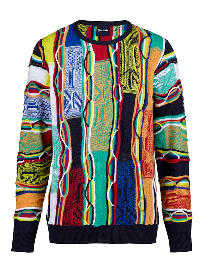 BABISTA Pull-over Made in Italy, Multicolore