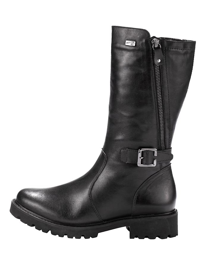 Čižmy vonkajší zips po rozopnutí mení vzhľad a veľkosť obuvi