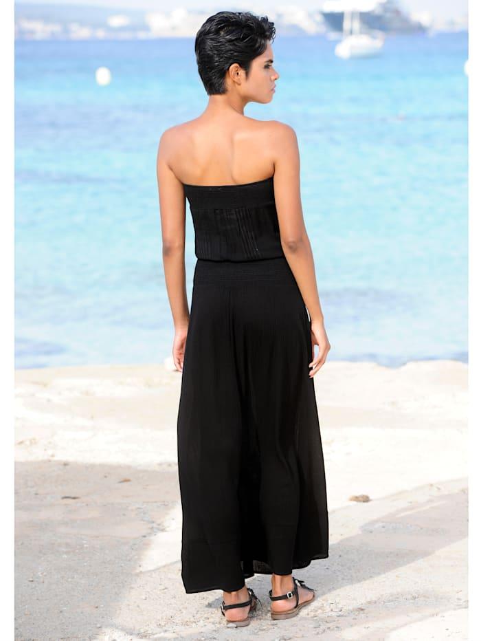 Strandkleid mit Spitzenkante