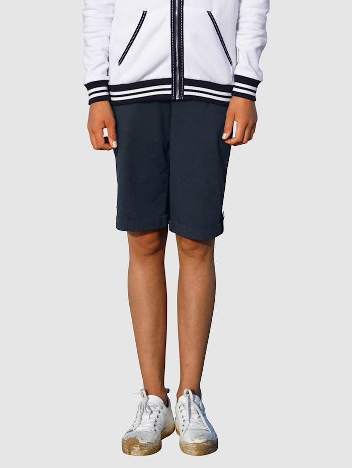 Dress In Shorts med uppvik, Marinblå