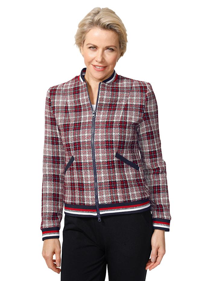 Jacket in a blouson cut