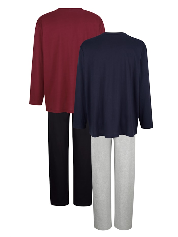"Pyjamas par lot de 2 en coton issu de l'initiative ""Cotton made in Africa"""
