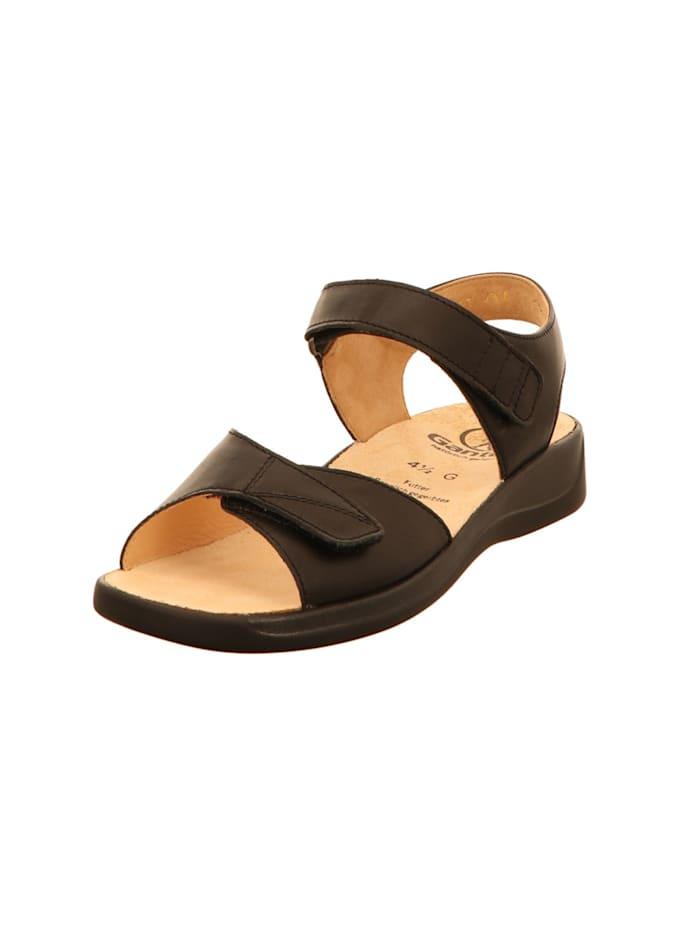 Ganter Damen Sandale in schwarz, schwarz
