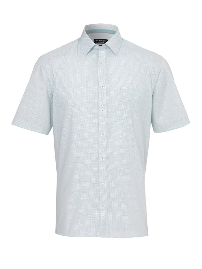Jupiter Modisches Print-Hemd ohne Brusttasche, Druck grün