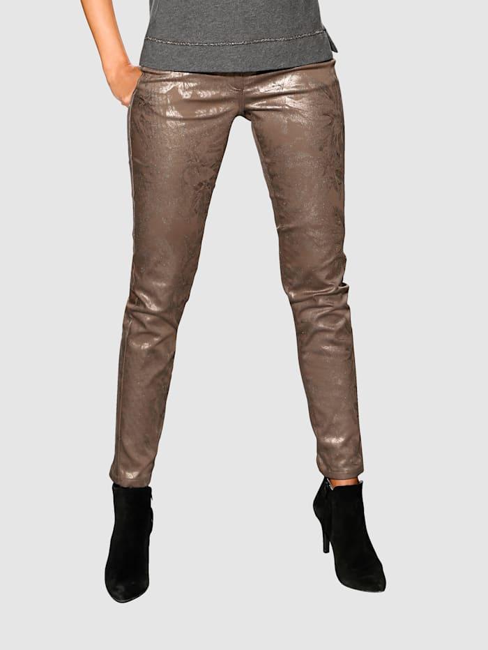 Pantalon Enduit scintillant