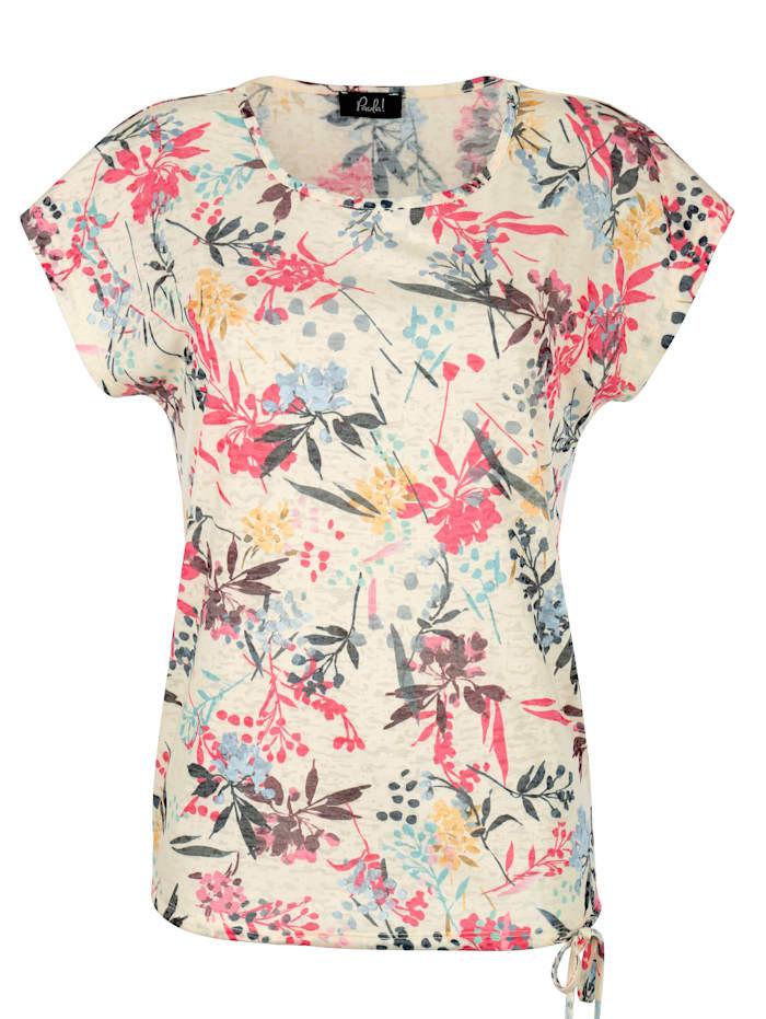 T-shirt avec détail à nouer