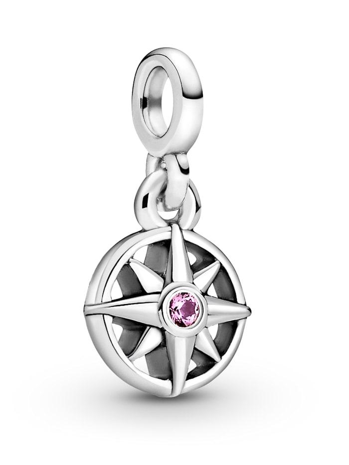 Pandora Charm-Anhänger - Mein Kompass - Pandora ME - 798975C01, Silberfarben