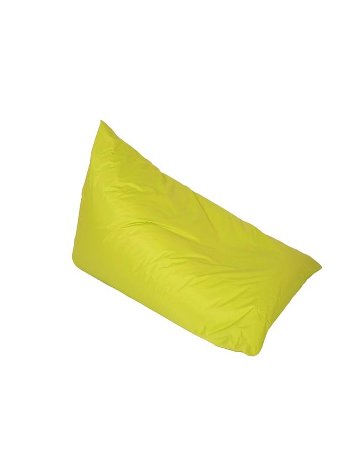 Linke Licardo Chillkissen Sitzsack Sitzkissen Sitzbanane Nylon limone 100/140 cm, Limone