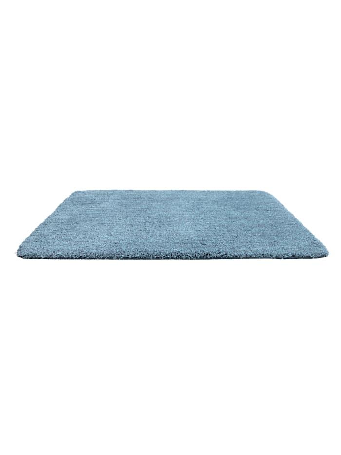Badteppich Mélange Marine Blue, 60 x 90 cm, Mikrofaser