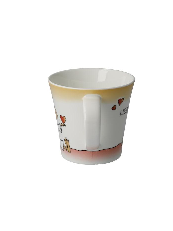 """Goebel Coffee-/Tea Mug Der kleine Yogi - """"Du bist mein Lieblingsmensch"""""""