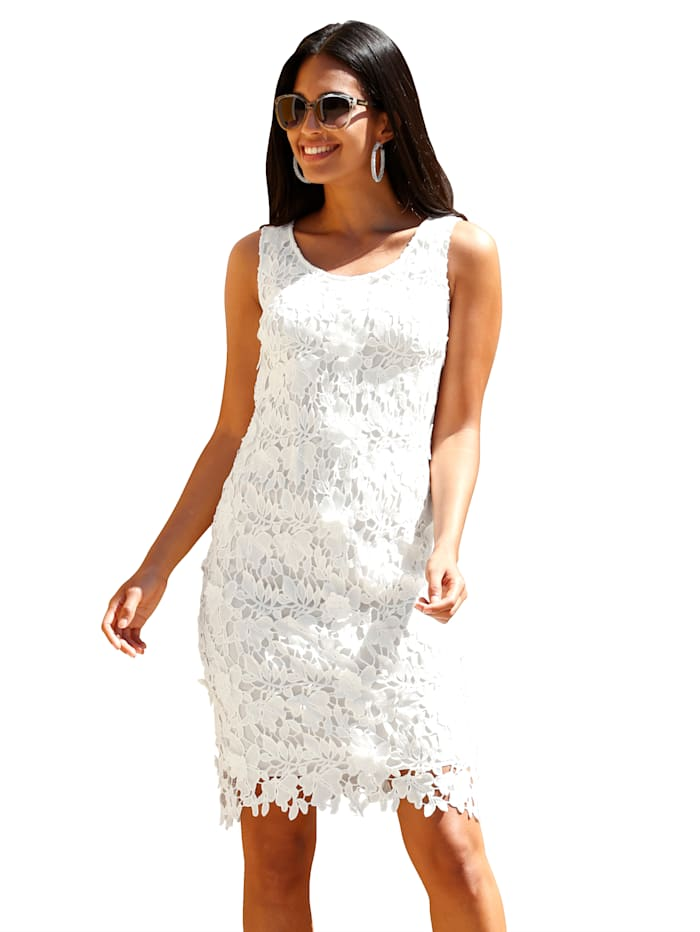 Kleid mit Spitze allover