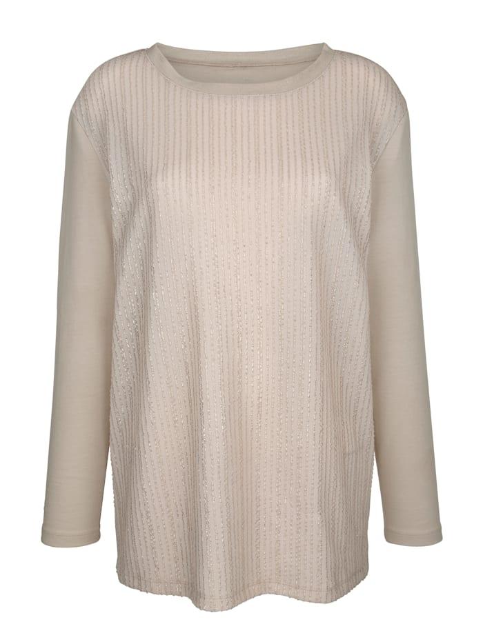 Sweatshirt in klassischer Form