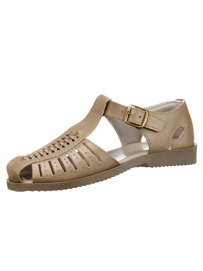 Sandaal, Beige