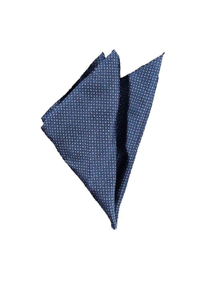 Engbers Stilvolles Einstecktuch aus hochwertiger Seide, Brilliantblau