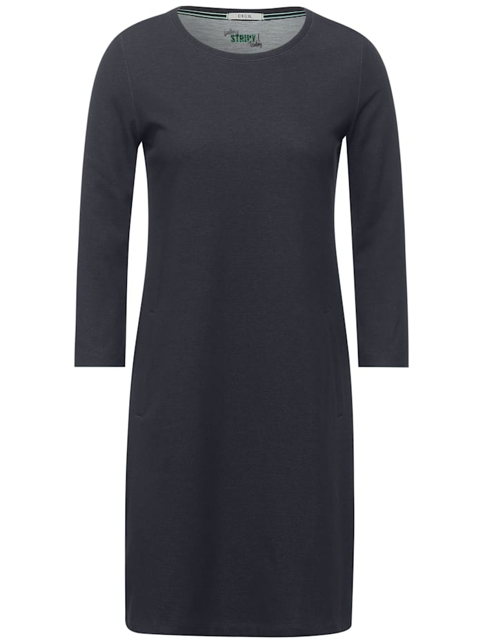 Cecil Lässiges Kleid mit Taschen, carbon grey