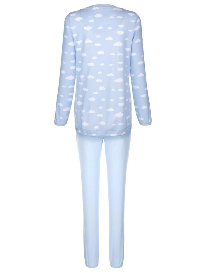Pyjama met handig bindbandje