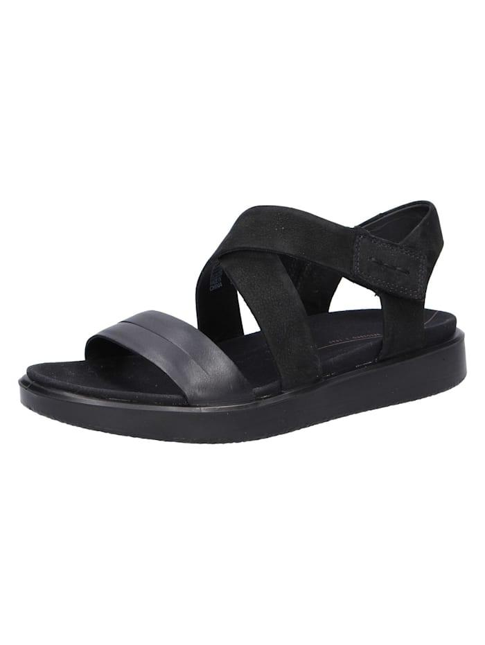 Ecco Sandalen/Sandaletten, schwarz
