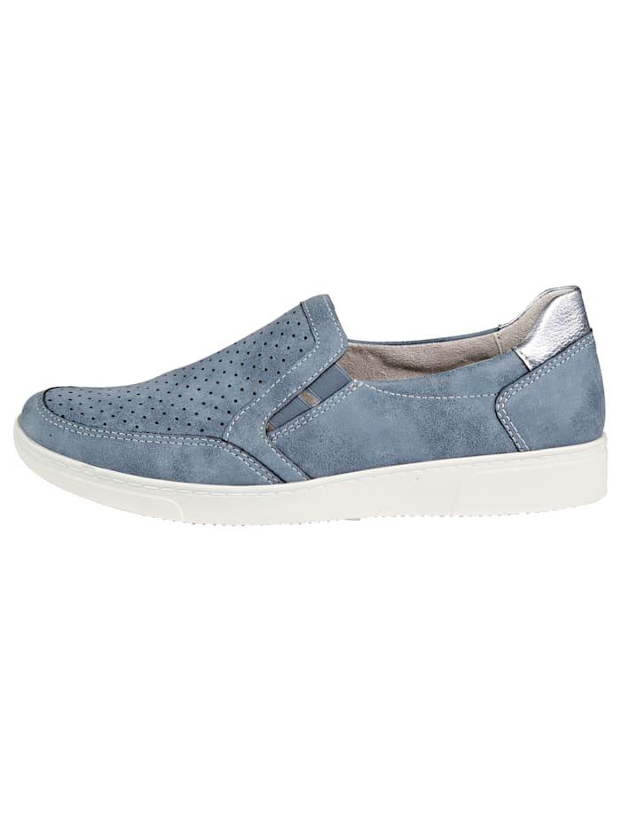 Slipper obuv s obojstrannou elastickou vsadkou