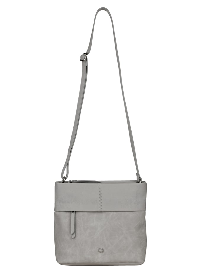 Gerry Weber Shoulder bag in a versatile design, Light Grey