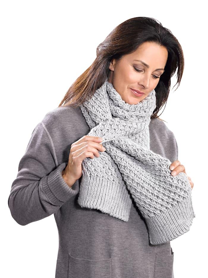 Sjaal met split