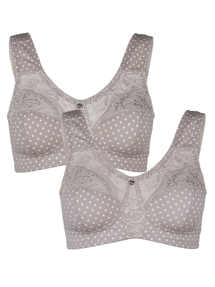Bra in a comfortable design Pack of 2