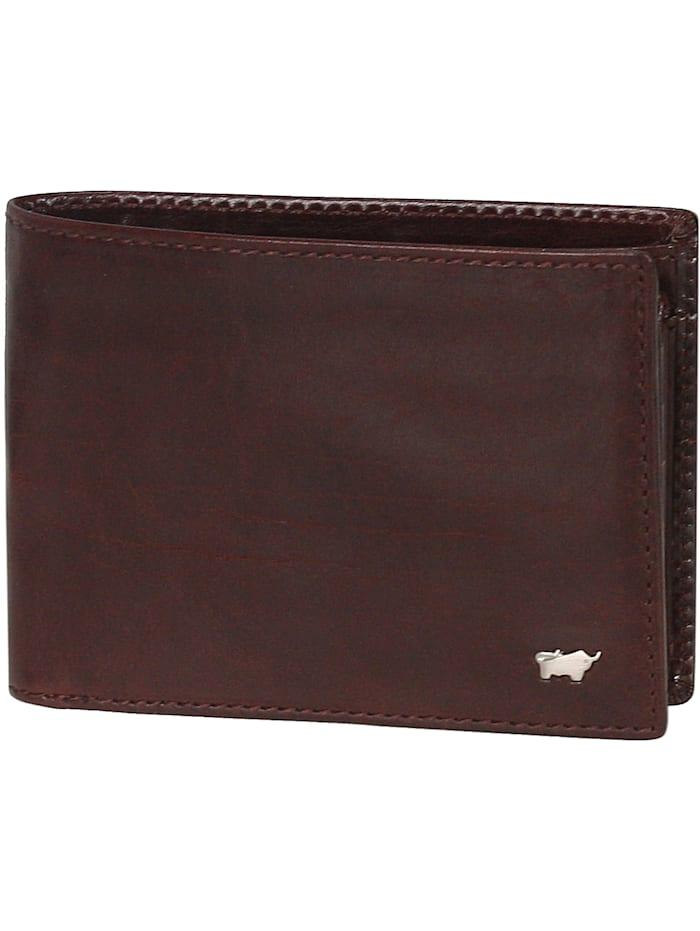 Braun Büffel Basic Geldbörse VII Leder 12,5 cm, cognac