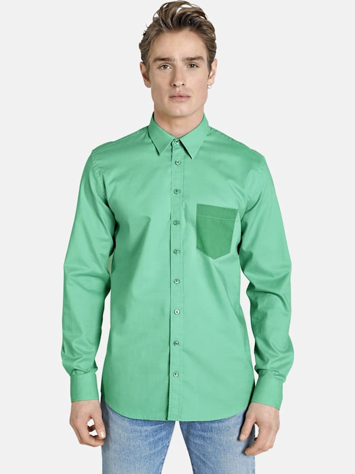 Shirtmaster Shirtmaster Hemd finallyspring, grün
