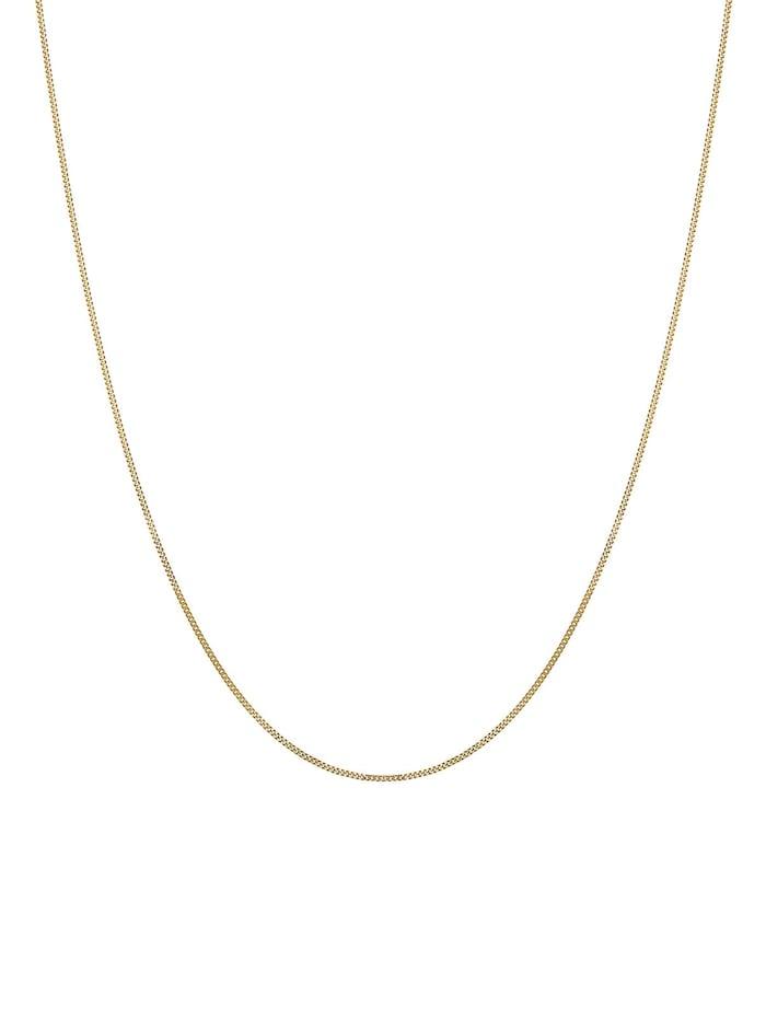 Halskette Basic-Kette 585 Gelbgold