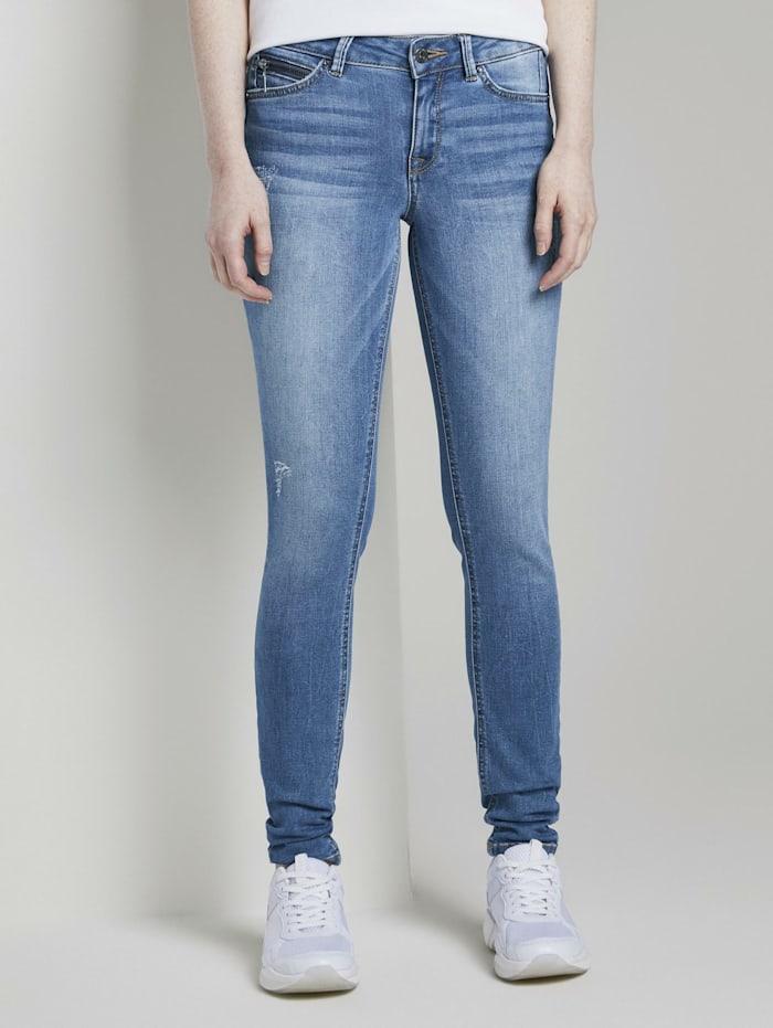 Tom Tailor Denim Jona ExtraSkinny Jeans, Used Mid Stone Blue Denim