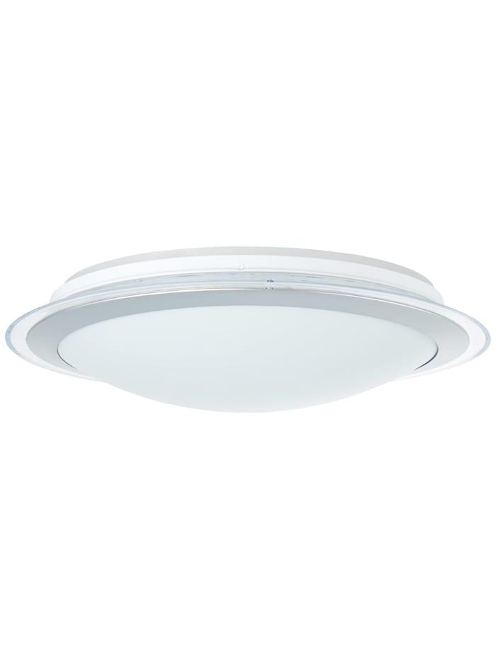 Dinos LED Deckenleuchte 44cm weiß-silber