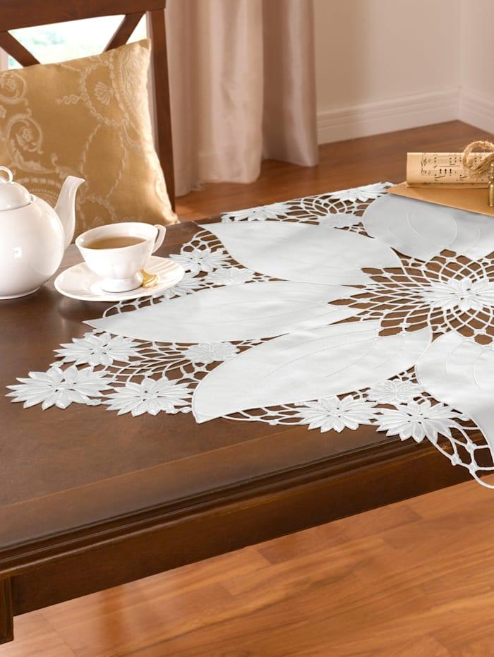 Webschatz Tischwäsche 'Blüte', sekt